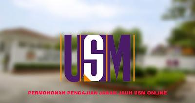 Permohonan PJJ USM 2020 Online (Pengajian Jarak Jauh)