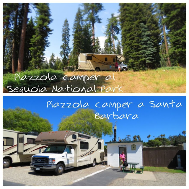viaggio in california in camper