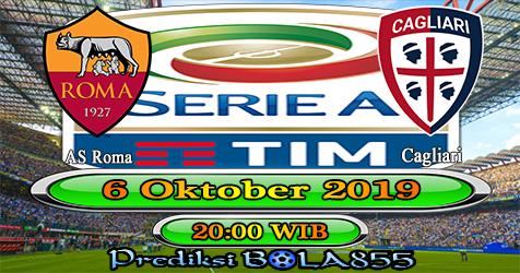 Prediksi Bola855 AS Roma vs Cagliari 6 Oktober 2019