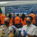 Delapan Tersangka Jual Beli Surat Hasil Swab Test Palsu Diringkus Polda Metro Jaya