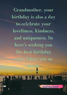 birthday wishes for grandma