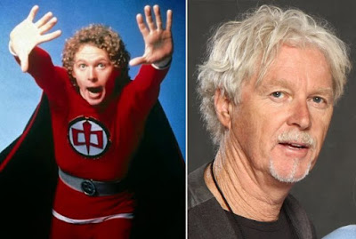 El actor William Katt en la serie 'El gran héroe americano' (1981 y 2014)