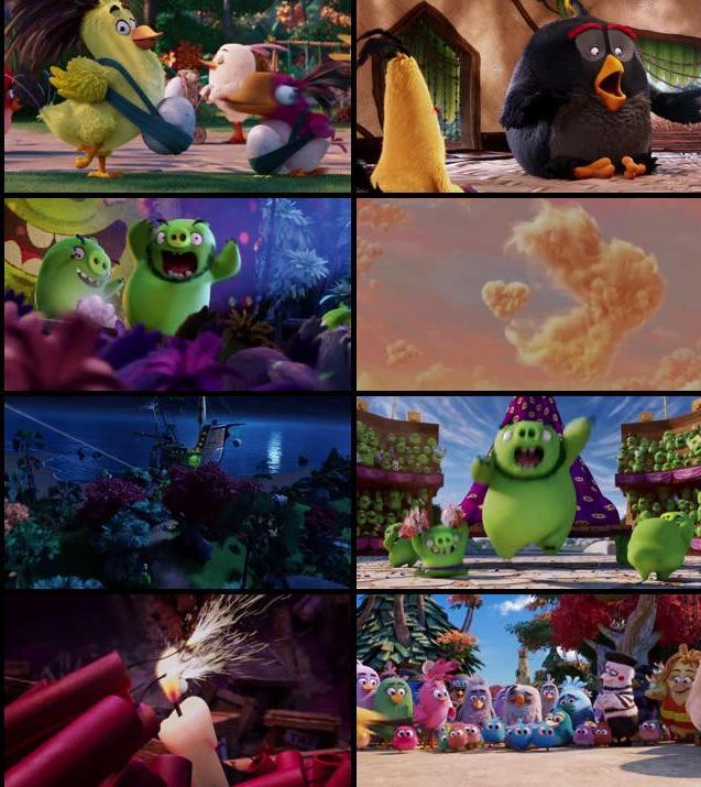 The Angry Birds Movie 2016 Dual Audio ORG Hindi 480p BluRay
