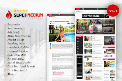 Download Template Blogger Supermedium v1.01