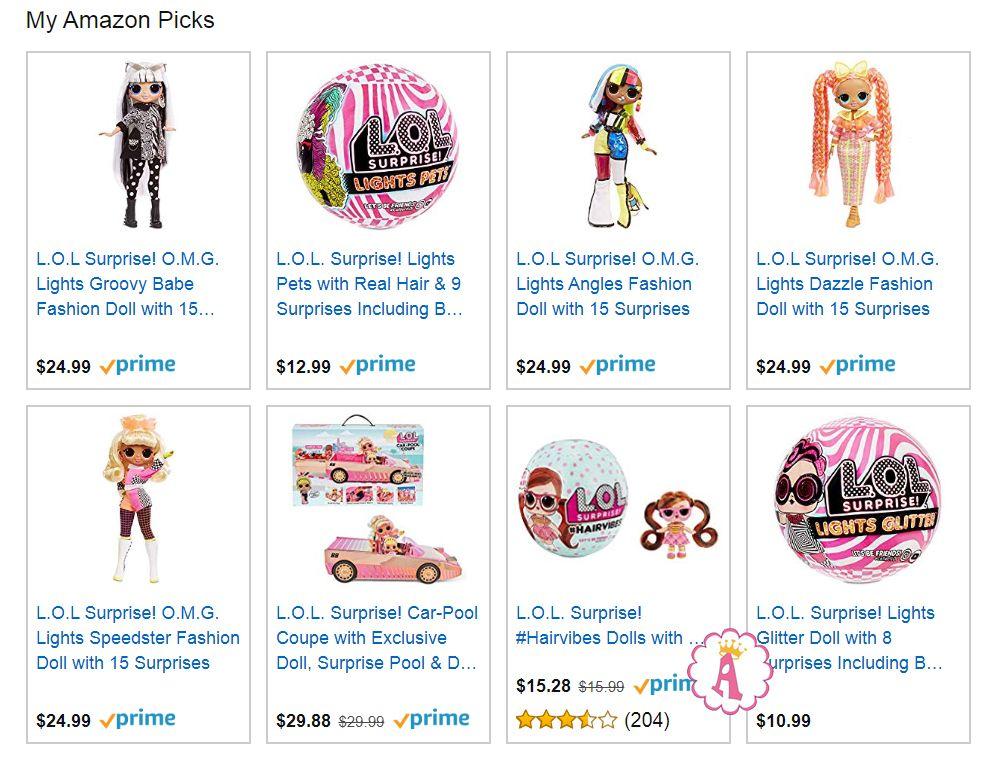 Игрушки L.O.L. Surprise Lights Series 2020 года куклы O.M.G. и питомцы