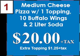 Empire Pizza Coupon  Medium Cheese Pizza