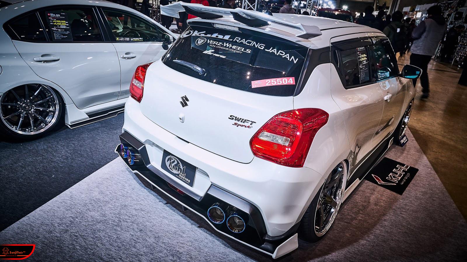 2019東京改裝車展|重點就是Jimny & Swift Sport!Suzuki的跨界新玩法 | SanjiNoir 黑侍樂讀|