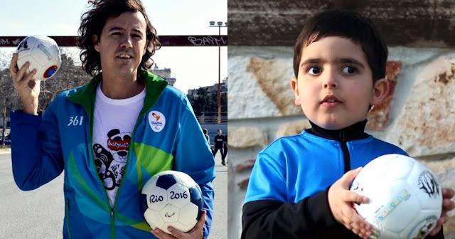 Ηλίας Μάστορας: Ο Έλληνας που φτιάχνει μπάλες που κουδουνίζουν για τυφλά παιδιά