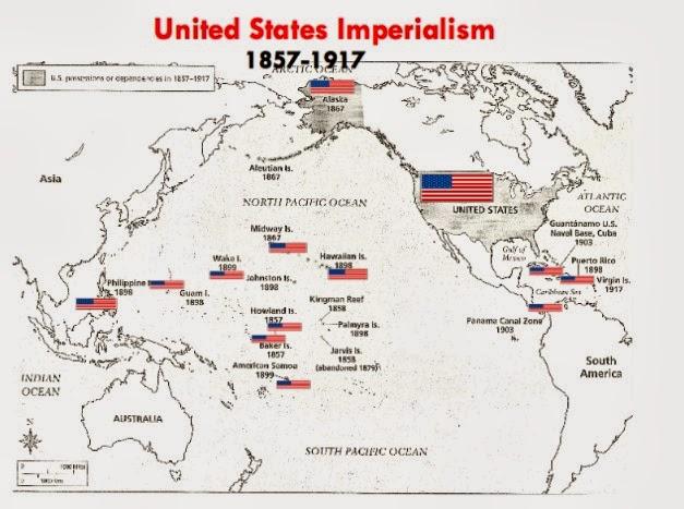 America imperialism essay