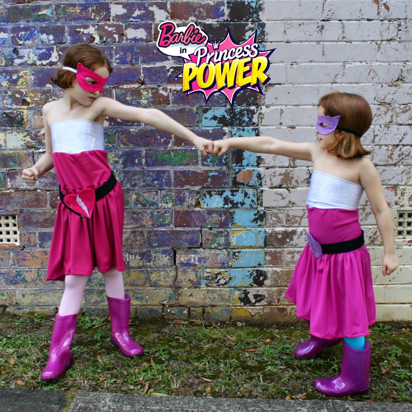 Barbie in Princess Power - Super Sparkle and Dark Sparkle Costumes  sc 1 st  Amelie and Atticus & Amelie and Atticus: Barbie in Princess Power - Super Sparkle and ...