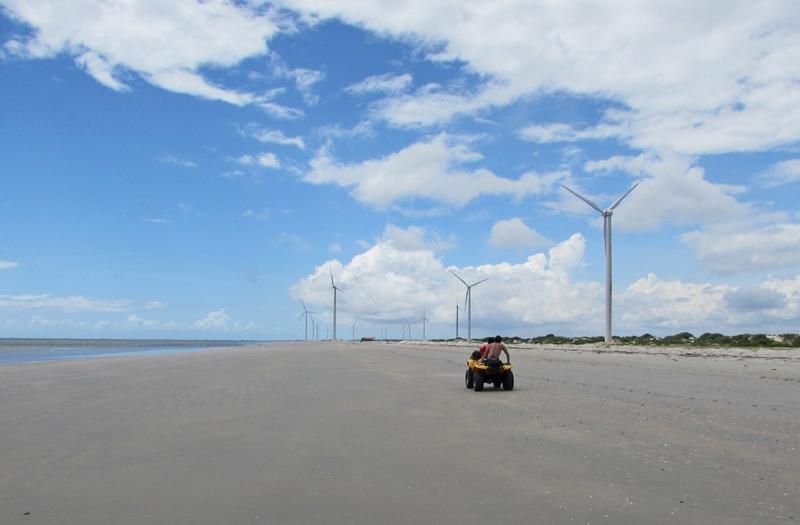 Parques Eólicos de Jericoacoara, Passeio a Barrinha