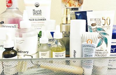 skincare products, skincare routine, cuidado de la piel, isol fernandez
