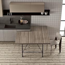 30 modelos de mesas y barras para cocinas de todos los estilos Cocinas con estilo