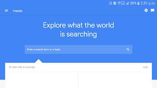 Google trends youtube keyword finder