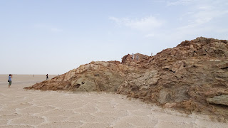Lots of hot weather and lot of salt in Danakil