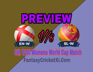 ENG-W Vs SL-W 4th T20i DREAM11 TEAM