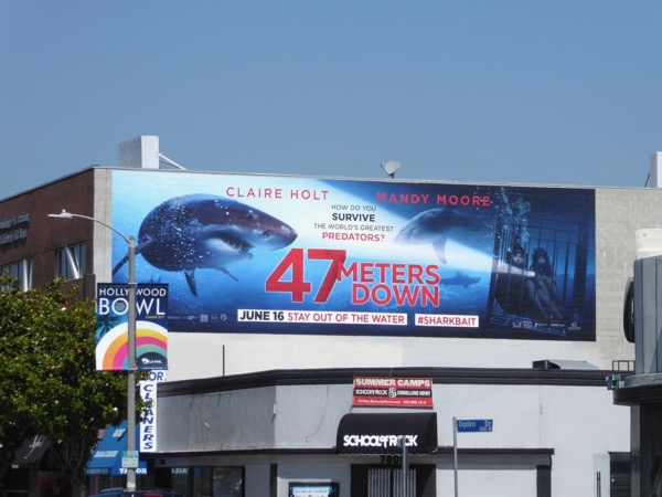 47 Meters Down movie billboard