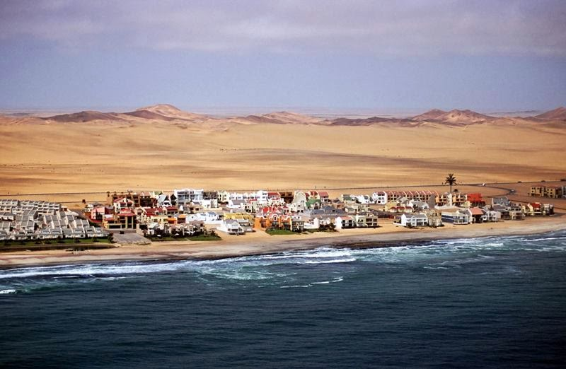 Gorgeous Swakopmund is one of the best beaches in Africa for adventure seekers. There's a large area of the coastal plain of the Namib Desert given over to purpose built low-rise resorts where there's actually quite a Germanic feel. There's plenty to see in the architecture of the town, but more importantly there's a ton of things to do. Sporty types will love this place.