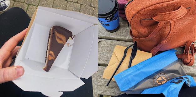 cafe nero coffee & vegan cheesecake