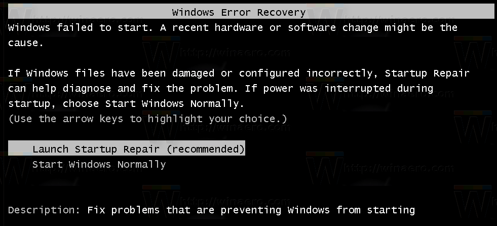 Menonaktifkan windows 7  startup repair booting