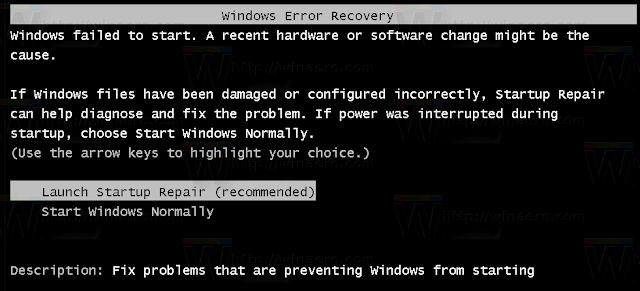Cara mematikan windows 7, startup repair booting
