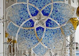 kaca inlay masjid