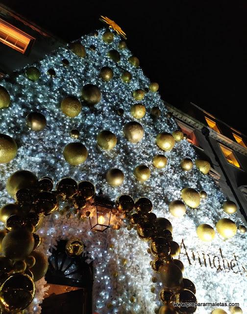 árbol de Navidad de Annabel's en Londres