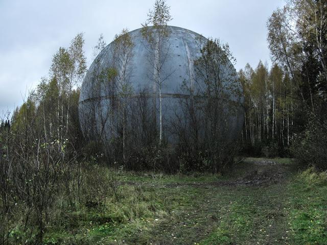 Шар возле деревни Игнатово