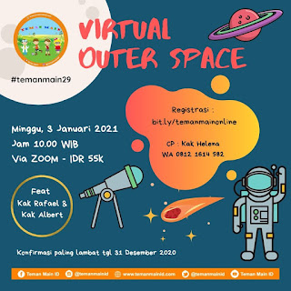 #temanmain29 : Virtual Tour Outer Space