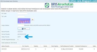 Cek BPJS aktif atau tidak