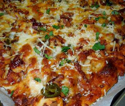 BBQ Pizza brand feature