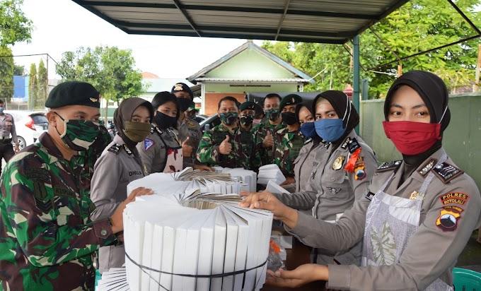 Danrem Tinjau Kesiapsiagaan Dapur Lapangan TNI-POLRI