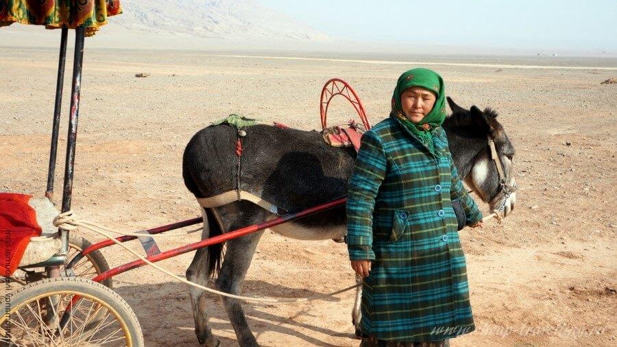 женщина уйгурка