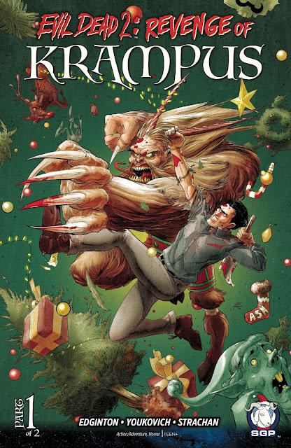 Evil Dead 2: Revenge of Krampus #1