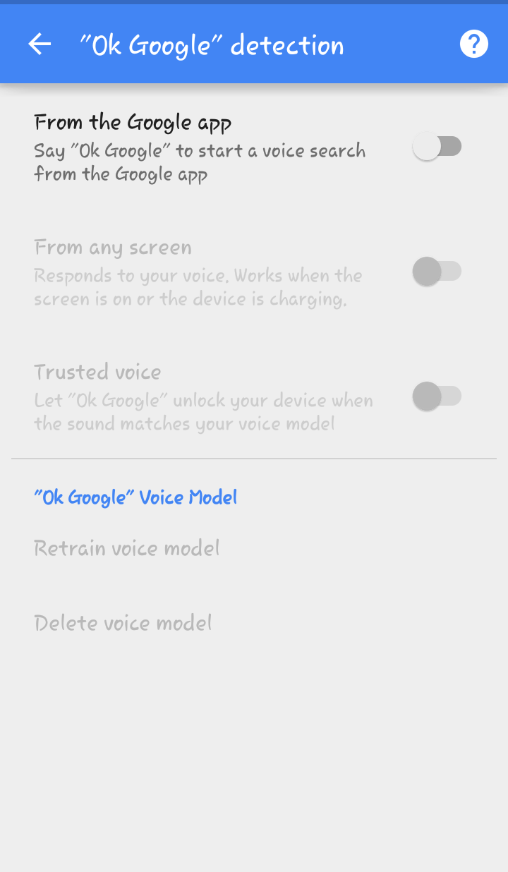 How can Google Now Command be changed from OK Google to