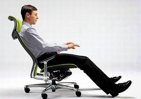 Tilting Office Chair