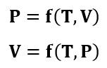 Formas secundarias de expresar ecuaciones de estado