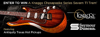 Enter to win a Knaggs Chesapeake Series Severn T1 Trem' Guitar, Ends 9/30.