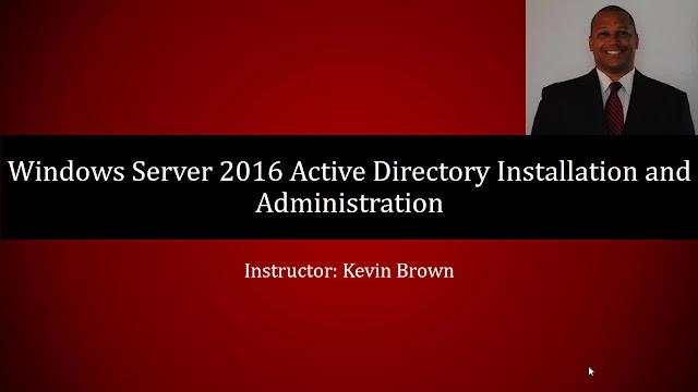 Active Directory on Windows Server 2016