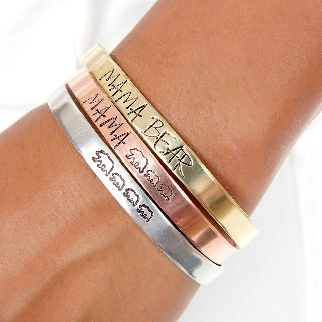 expressions bracelets handmade metal cuffs