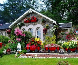 Dekorasi Taman Bunga
