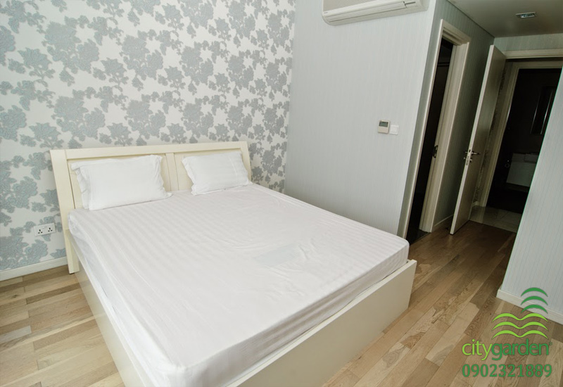 phòng ngủ chính 1 | cho thuê căn hộ 2 phòng ngủ city garden
