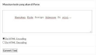 Parse html online