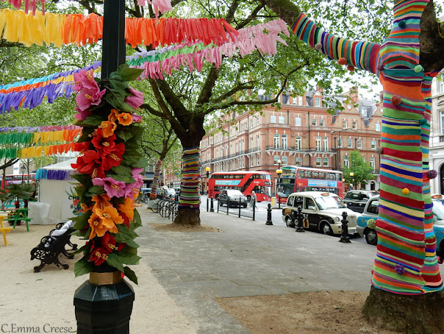 Chelsea in Bloom Carnival Duke of York Square Adventures of a London Kiwi