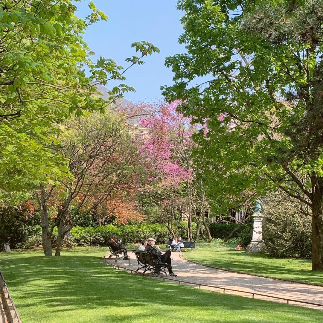 Jardin Du Luxembourg taman tersembunyi Paris
