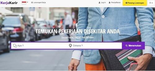 Situs Lowongan Pekerjaan KerjaKarir.com