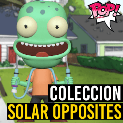 Lista de figuras Funko POP Solar Opposites