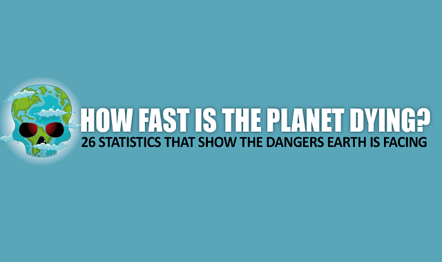 How Fast is the Planet Dying? 26 Eye-Opening Statistics