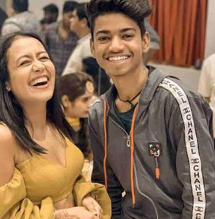 Sagar Goswami With Neha Kakkar
