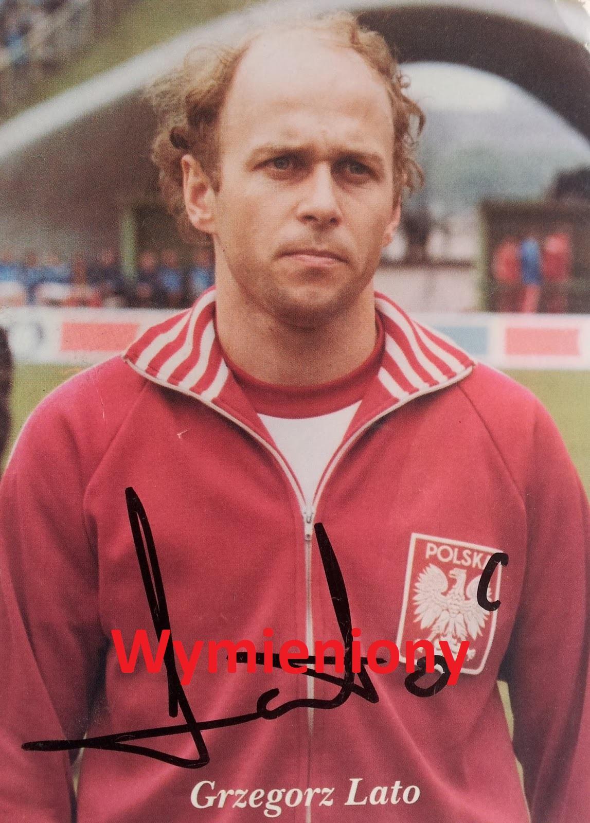 Autografy Norbiego Grzegorz Lato
